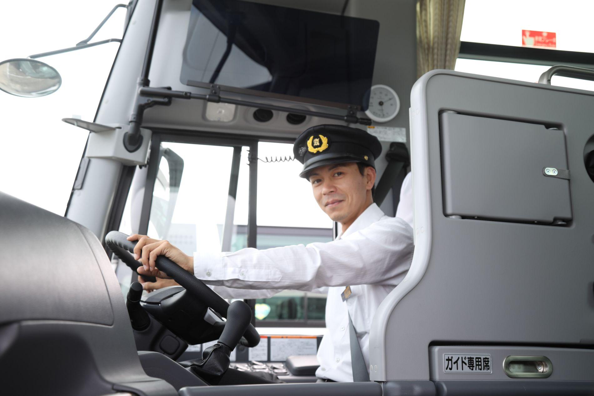 バス運転手募集